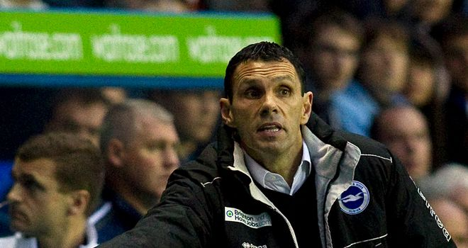 Gus Poyet: Has been linked with the vacant managerial role at Wolves