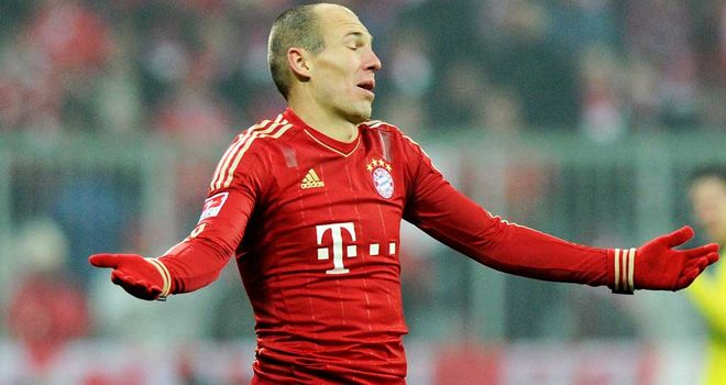 Arjen Robben: Has apologised for diving in the penalty area during Bayern Munich's DFB Pokal clash with Bochum