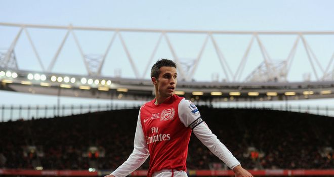 Robin van Persie: Insists Arsenal are taking things one game at a time