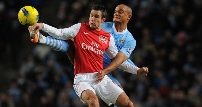 Vincent Kompany admits it is easy to want to play alongside Robin van Persie