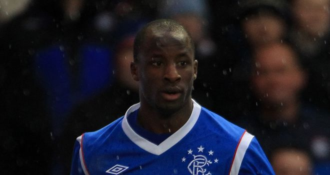 Sone Aluko: Recent signing has been backed to recover from his two-game ban by Rangers boss Ally McCoist