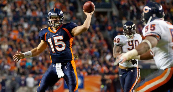 Tebow: maybe he's magical?