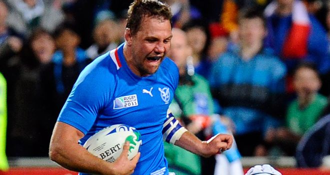 Tinus Du Plessis: Namibia forward signed by Wasps until end of season