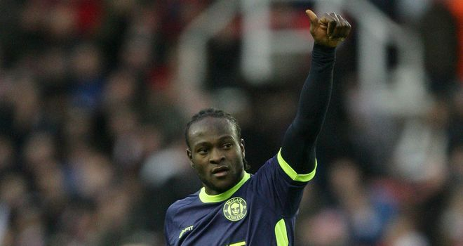 Victor Moses: Came close to breaking deadlock as Wigan lost to Real Mallorca