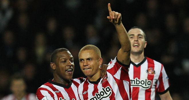 Wes Brown: Opened his goal account for Sunderland with a vital header at Loftus Road