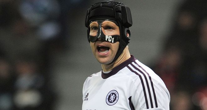 Petr Cech: The goalkeeper is backing Chelsea to advance in the Champions League
