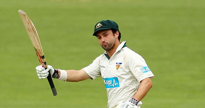 Ed Cowan: Will make his Australia debut in the Boxing Day Test