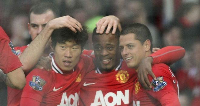 Patrice Evra: Worried about injuries but has hailed Manchester United's team spirit