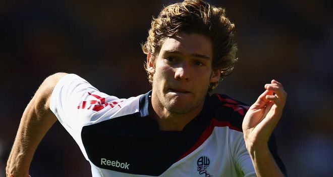 Marcos Alonso: Bolton defender could face another spell out after suffering a foot injury at Blackburn