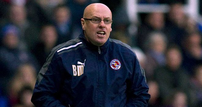 Brian McDermott: The Reading manager delighted with big three points at Watford