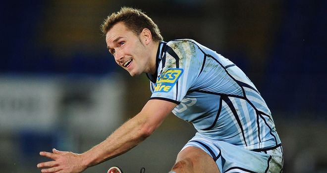 Dan Parks: Has agreed to join Connacht in the summer