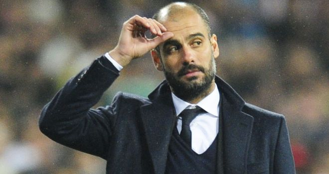 On Guard: Pep and his Barca team could be in a battle for second place, says Guillem