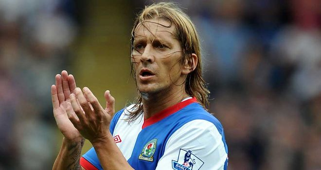 Michel Salgado: Says Blackburn are refusing to pick him despite being fit
