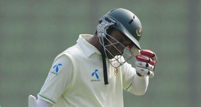 Shakib Al Hasan: century underpinned Bangladesh's first innings