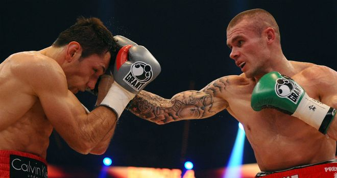Martin Murray: Has impressed Ricky Hatton