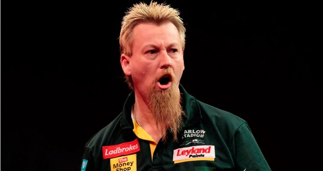 Simon Whitlock: Came through an epic against Michael van Gerwen