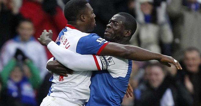 Yakubu: Backed by Chris Samba to score 20 goals for Blackburn this term