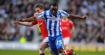 Kazenga LuaLua: Brighton winger could return against Crystal Palace