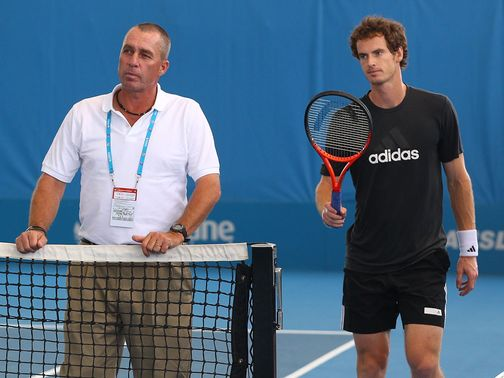 Ivan Lendl (l): Much more to come from Murray