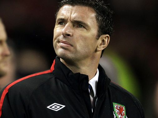 Gary Speed: Died one year ago