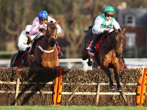 Captain Conan (left): Can make a winning chase debut