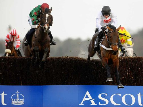 Finian's Rainbow (R): Ascot headline act