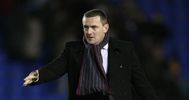Aidy Boothroyd: Has faith in Lee Nicholls' ability