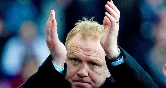 Alex McLeish: The former Scotland manager thinks Redknapp will find it hard to ignore England