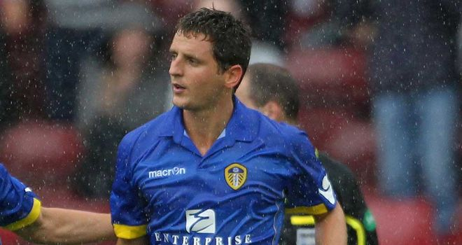 Alex Bruce: Hoping to reignite his season under new Leeds boss Warnock