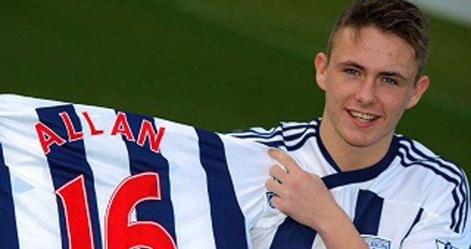Scott Allan: West Brom's new signing said Paul Gascoigne was his inspiration as a young boy