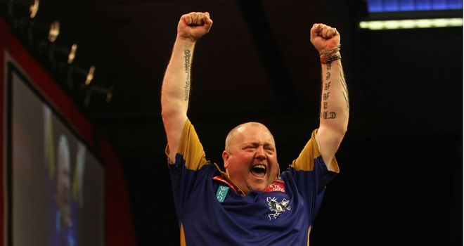 Andy Hamilton: Through to maiden World Championship final