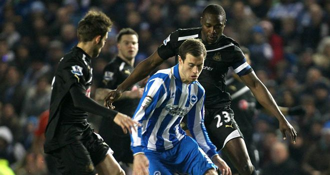 Newcastle were beaten by Brighton in last season's FA Cup