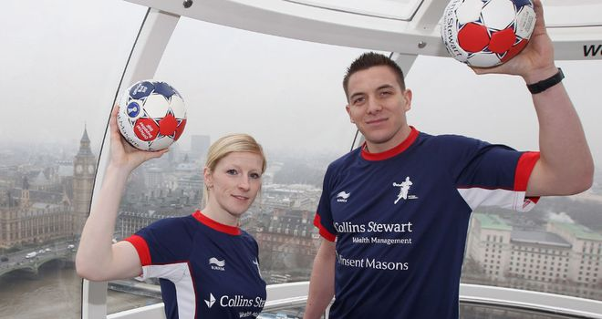 Lynn McCafferty and Bobby White: Celebrating new sponsorship deal