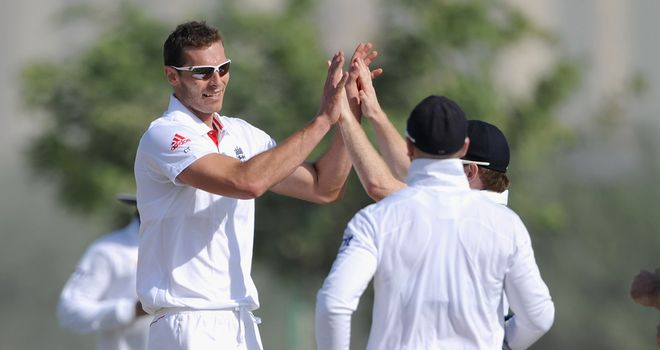 Chris Tremlett: Struggling with soreness and stiffness in his back and side