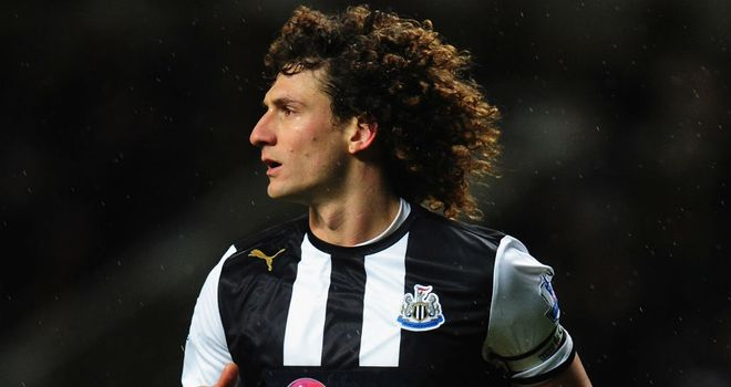 Fabricio Coloccini: Newcastle defender has been in great form for Alan Pardew's team