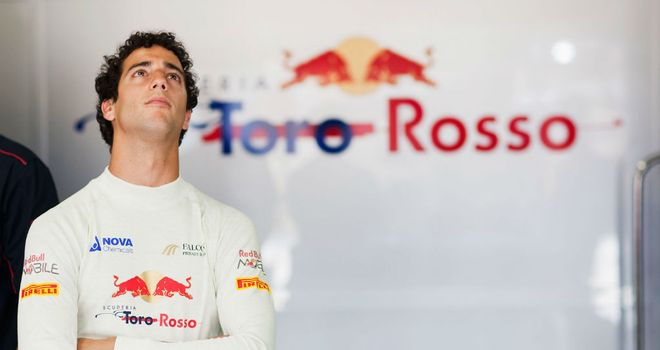 Daniel Ricciardo: Says he can cope with the pressure placed on him by Red Bull