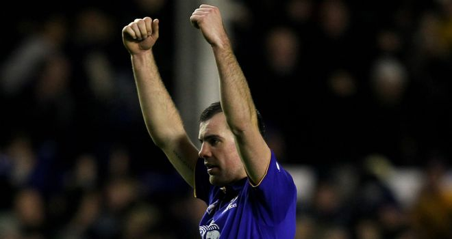 Darron Gibson: Relieved to score the winning goal against Manchester City