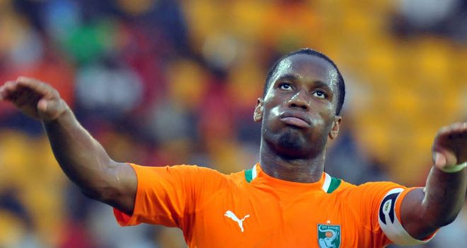 Didier Drogba: The Chelsea striker is currently with the Ivory Coast at the African Nations Cup