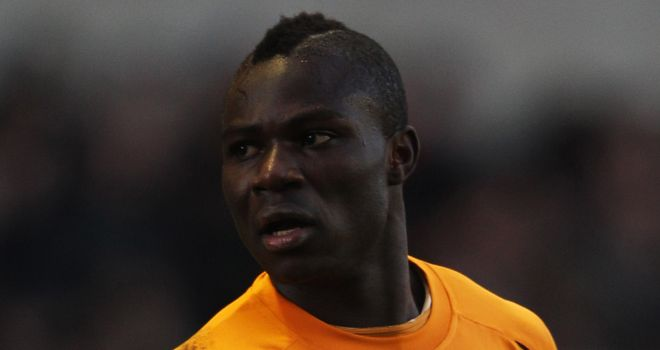 Emmanuel Frimpong: Stretchered off in Wolves' defeat to Villa
