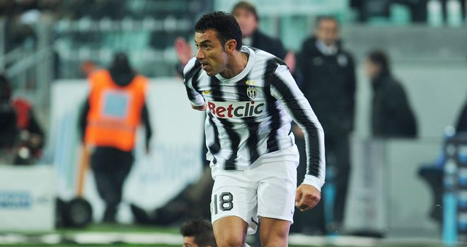 Fabio Quagliarella: Scored Juventus' third goal in the 3-1 home win over Catania