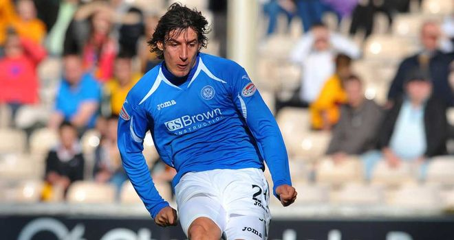 Francisco Sandaza: St Johnstone striker's agent says there has not been an offer from Rangers