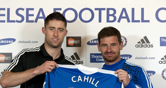 Gary Cahill: New arrival at Chelsea