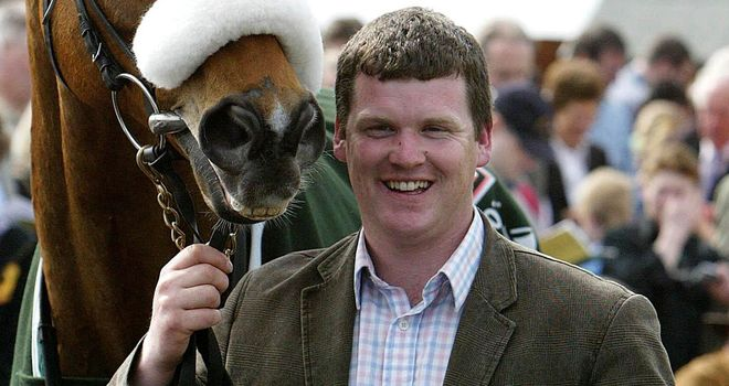 Gordon Elliott's Flaxen Flare was an impressive winner
