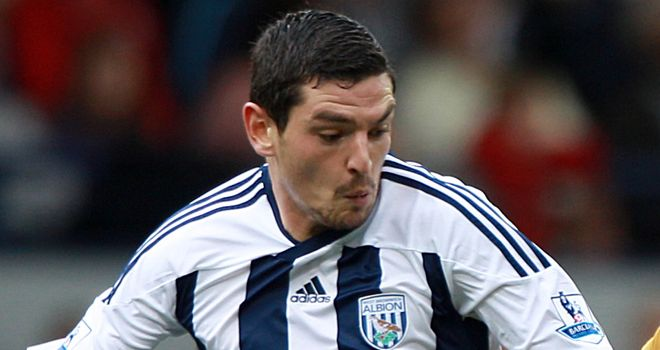Graham Dorrans: Could make return for West Brom against Everton