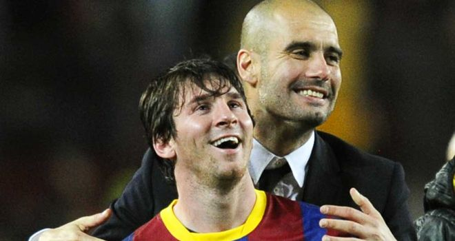 Lionel Messi: Has urged Pep Guardiola to pen a new deal at Barcelona