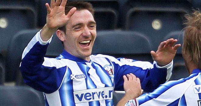 Paul Heffernan: Scored a brace for Kilmarnock