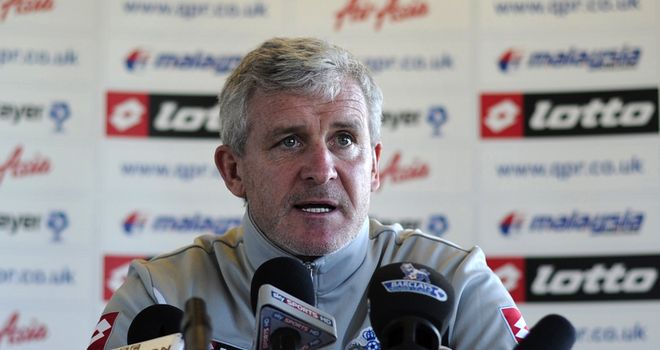 Mark Hughes: Has his work cut out if he's to lead QPR to survival