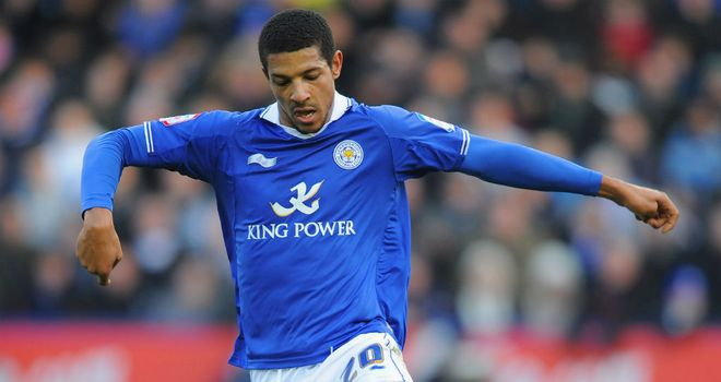 Beckford: Scored twice for the Foxes