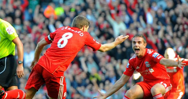 Jordan Henderson: The Liverpool midfielder is learning from Steven Gerrard