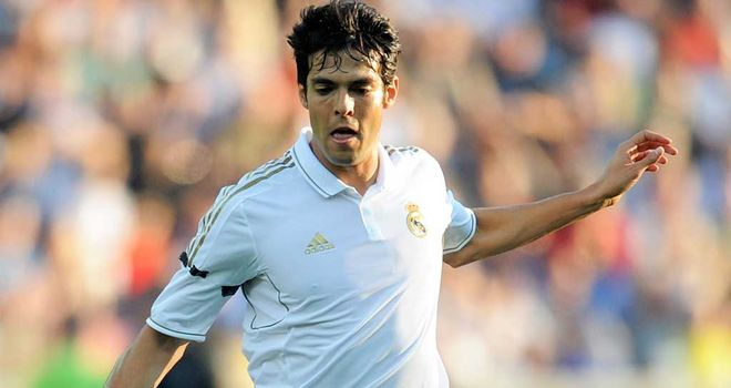 Kaka: Has struggled for consistency at Real Madrid after joining from Milan